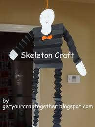 get your crap together 31 days of halloween skeleton kids craft