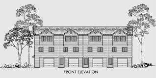 3 story multi family house plans house plans