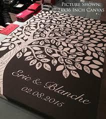 tree guest book rustic wedding guest book alternative custom guest book