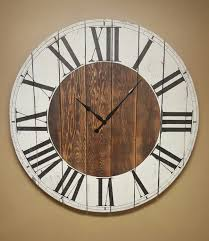 the abigail farmhouse wall clock oversized wall