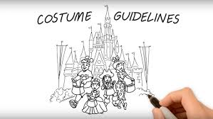 costume guidelines for mickey u0027s not so scary halloween party