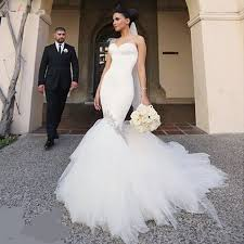 fishtail wedding dress aliexpress buy korean tulle wedding dress 2017 white