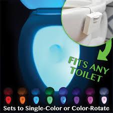 Motion Activated Night Light Illumibowl Motion Activated Toilet Bowl Night Light