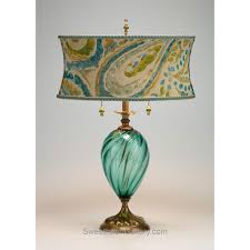 Turquoise Table Lamp Lucia Table Lamp Kinzig Design Turquoise Blue Lime Blown