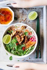 vietnamese tempeh noodle salad lazy cat kitchen