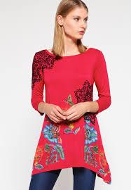 desigual designer desigual ramona sleeved top bordeaux sleeve tops