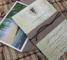 Wedding Invitations Miami Vintage Map And Seahorse Wedding Invitation Key West Florida