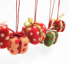 cut needle felting ornaments featuring from crafts n