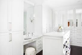makeup vanity with sink round closet vanity sink design ideas