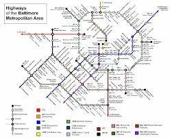Atlanta Subway Map by Baltimore Subway Map Travel Map Vacations Travelsfinders Com