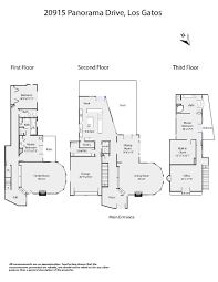 The Panorama Floor Plan by 20915 Panorama Dr Los Gatos Ca 95033 2 485 000 Www