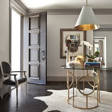 Marble Top Entryway Table Country Foyer Features Brass And Marble Foyer Table By Braun Adams