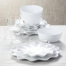 porcelain dinnerware crate and barrel