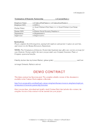 Cancellation Of Services Letter From Business by Partnership Termination Form