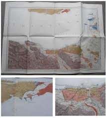 Somerset England Map 1884 Geological Map Of North Somerset Watchet Porlock Minehead