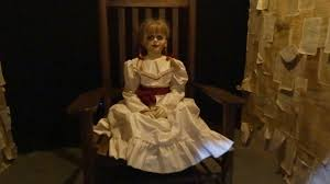 annabelle costume new horror costumes and props display at warner bros it