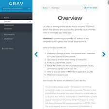 Resume Pages Template Skeletons Grav