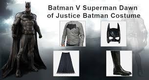 Batman Halloween Costume Ultimate Batman Superman Dawn Justice Batman Costume Guide