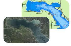 map of michigan lakes aqua map gps boating lake maps