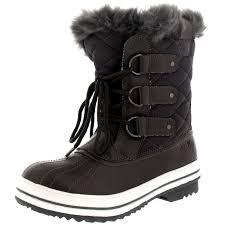 womens size 12 fur lined boots womens boot winter fur warm waterproof