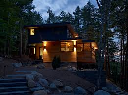 forest house world of architecture forest house lake joseph cottage by altius