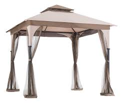 Covered Gazebos For Patios Gazebos Umbrellas Canopies U0026 Shade Patio Furniture Amazon Com