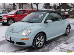 beetle volkswagen blue 2006 volkswagen new beetle 2 5 convertible in aquarius blue