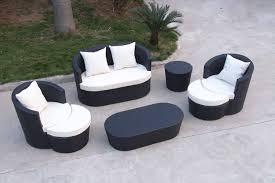 furniture excellent design ideas using rectangular black rattan