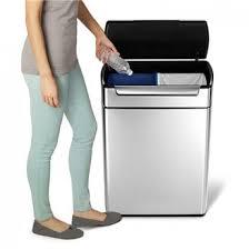 poubelle tri selectif cuisine meuble poubelle de cuisine tri sélectif cubek dho inox 1 colonne