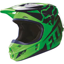 fox motocross gear fox racing 2016 youth v1 race helmet flo green available at