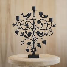 lovebirds modern candelabra the blue door