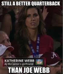 Meme Poor - katherine webb meme rips poor joe webb joe montana s right arm
