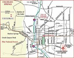 fort carson map springs summit