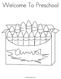 printable preschool coloring pages 23001