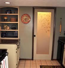 kitchen interior doors etched glass interior door features floral design of tree branch