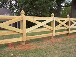 likableart 3 rail vinyl fence remarkable small garden fence ideas