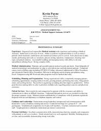 resume templates accounting assistant job summary exle medical assistant jobs no experience required paso evolist co
