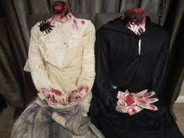 headless man and headless woman costumes diy inspired
