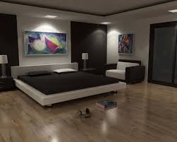 simple bedroom model interior design