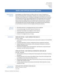 resume writing services portland oregon bank loan officer resume templates samples and tips online bank loan officer resume