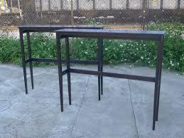 wooden high bar table home design stunning narrow tall table high bar top tablesnd stools