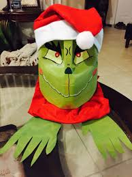 the grinch recycle milk jug gallon crafts pinterest