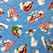 train fabric ebay