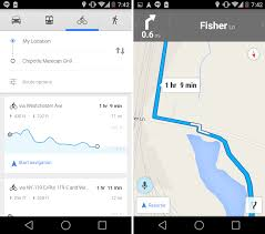 maps apk version maps 8 2 brings better voice biking support