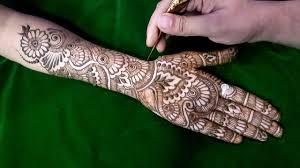 eid special henna design for hands unique henna design for 2017