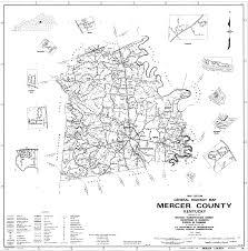 mercer map district maps department of revenue