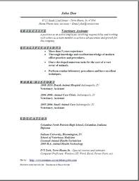 veterinary technician resume exles veterinary assistant resume exles to vet assistant resume