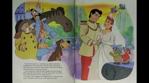 disney cinderella book