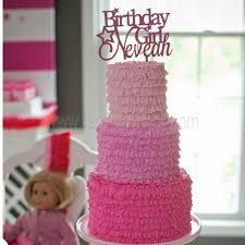 girl cake american girl theme birthday cake topper