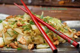 chinois en cuisine wok de chou chinois et noix de cajou la cuisine de corinne